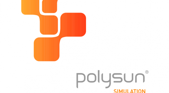Screenshot des Polysun-Logos.